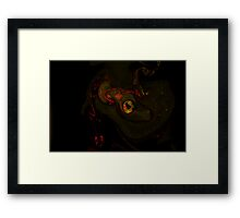 Fluid Painting S3-05 Framed Print