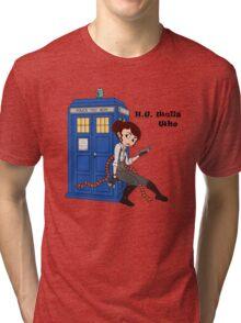 H. G. Who Tri-blend T-Shirt