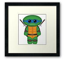 Leonardo TMNT Framed Print