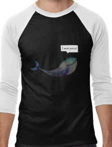 I want peace Men's Baseball ¾ T-Shirt