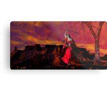 Catphrodite's Red Wind - part 3 Metal Print