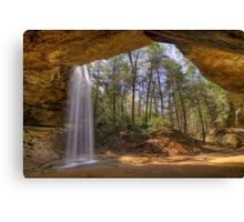 Ash Cave in Hocking HIlls Ohio Canvas Print