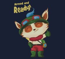 Teemo: Armed and Ready! T-Shirt