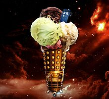 Ice Cream Dalek by hardsign
