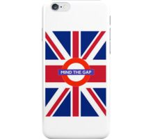 Mind the cover GB version iPhone Case/Skin