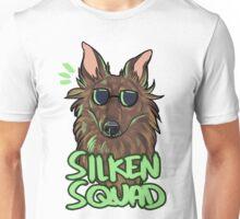 SILKEN SQUAD (brindle) Unisex T-Shirt