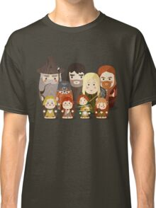 Fellowship of the Ring Matryoshka (Nesting) Dolls Classic T-Shirt