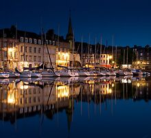 Honfleur by Night by Davidpstephens