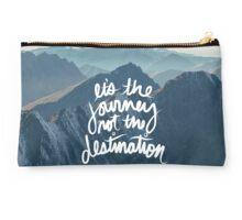 It's the journey not the destination Studio Pouch