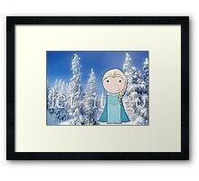 Frozen -- Let It Go Framed Print