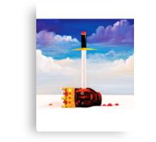 Power Kanye West Canvas Print