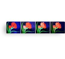 Evolution of a Beauty Canvas Print