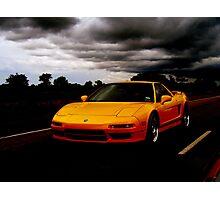 Yellow NSX Photographic Print