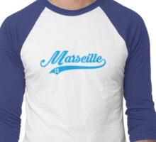 Marseille style Baseball Men's Baseball ¾ T-Shirt
