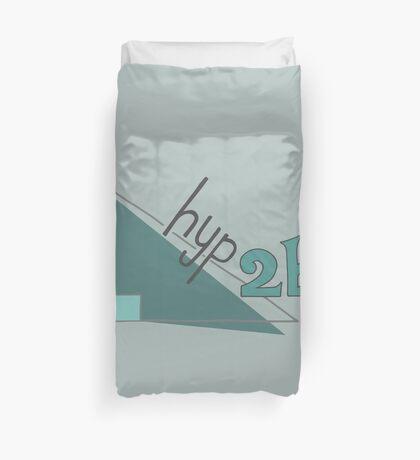 Hyp 2b(squared) - green Duvet Cover