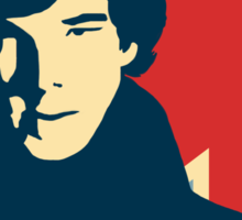 Sherlock Holmes Poster Sticker