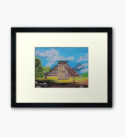 Mayan 2 Framed Print