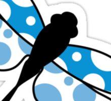 Dragonfly Pattern Sticker