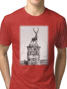 The Skyfall Stag Tri-blend T-Shirt