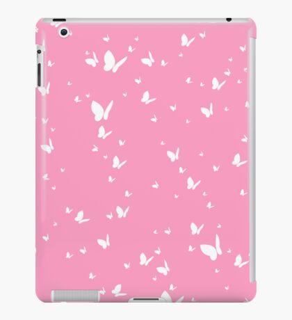 Butterfly Silhouette Pattern iPad Case/Skin