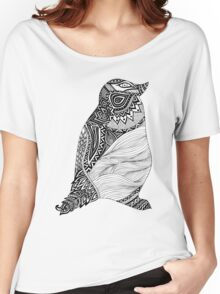 Tribal Penguin Women's Relaxed Fit T-Shirt