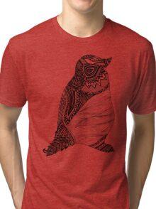 Tribal Penguin Tri-blend T-Shirt