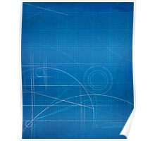 Blueprint iPad Cover Design Poster
