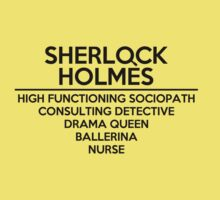 Sherlock Holmes One Piece - Short Sleeve