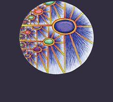 Cosmic Sunflower Mandala Unisex T-Shirt