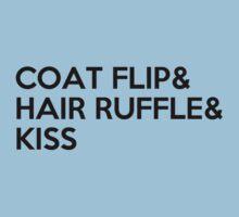 COAT FLIP & HAIR RUFFLE & KISS Kids Clothes