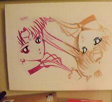 Sailor Moon by blackknightart1