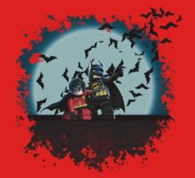 LEGO Batman & Robin by jscott0142