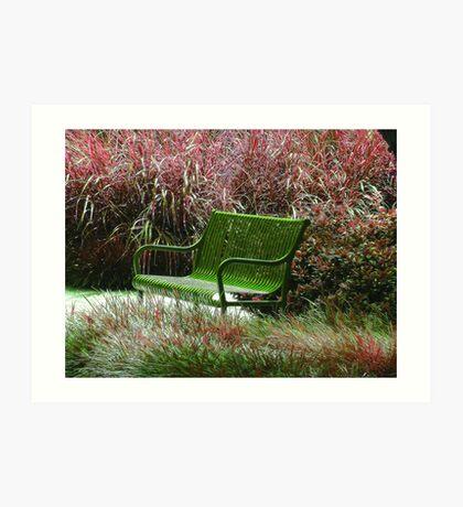 """Bench"" by Carter L. Shepard Art Print"