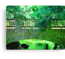 """Bridge"" by Carter L. Shepard Canvas Print"