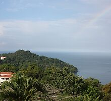 Manuel Antonio Rainbow by Alicia  Summerville