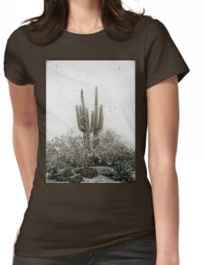 Arizona Snowstorm Womens Fitted T-Shirt