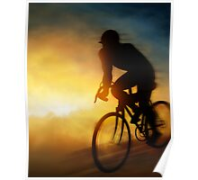 Cycling Cyclist Poster