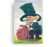Two comrades Canvas Print