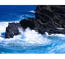 """Hawaii Ocean"" by Carter L. Shepard Photographic Print"