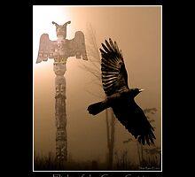 """Flight of the Crow Spirit"" by Skye Ryan-Evans"
