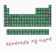 Remember my name walter w by nicethreads