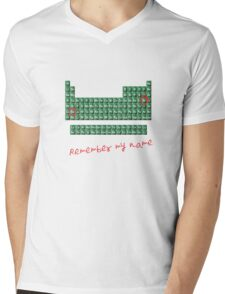 Remember my name walter w Mens V-Neck T-Shirt
