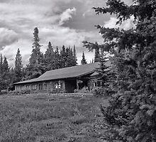 Jenny Lake Lodge Toned II by Brenton Cooper