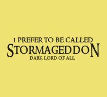 I am Stormageddon! Kids Clothes