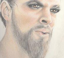 Khal Drogo - Dothraki Game of Thrones by Carolyn Roper