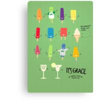 (It'sGrace) Popsicles Canvas Print