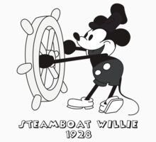 Steamboat Willie (black) by SerjKazter