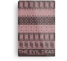 The Evil Dead (1981) Poster Metal Print