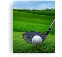 Golf Golfing Canvas Print