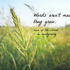 Words Grow Anne Shirley by Kimberose